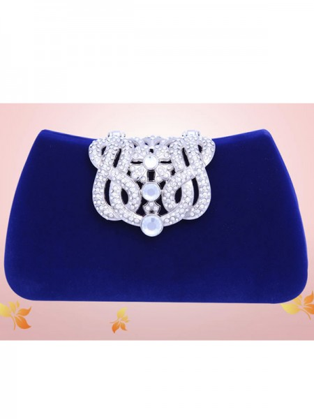Mini Rhinestone Flock Parti/Evening Bags